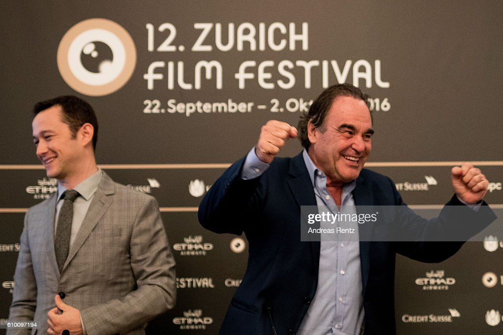 'Snowden' Press Conference - 12th Zurich Film Festival