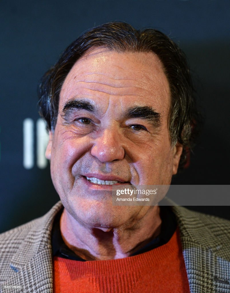 Director Oliver Stone receives the Baume and Mercier Special Award at the Filming In Italy Festival at the Italian Cultural Institute on February 3, 2017 in Los Angeles, California.