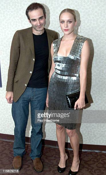 Director Olivier Assayas and Chloe Sevigny during Demonlover Premiere New York at Gramercy Theatre in New York City New York United States