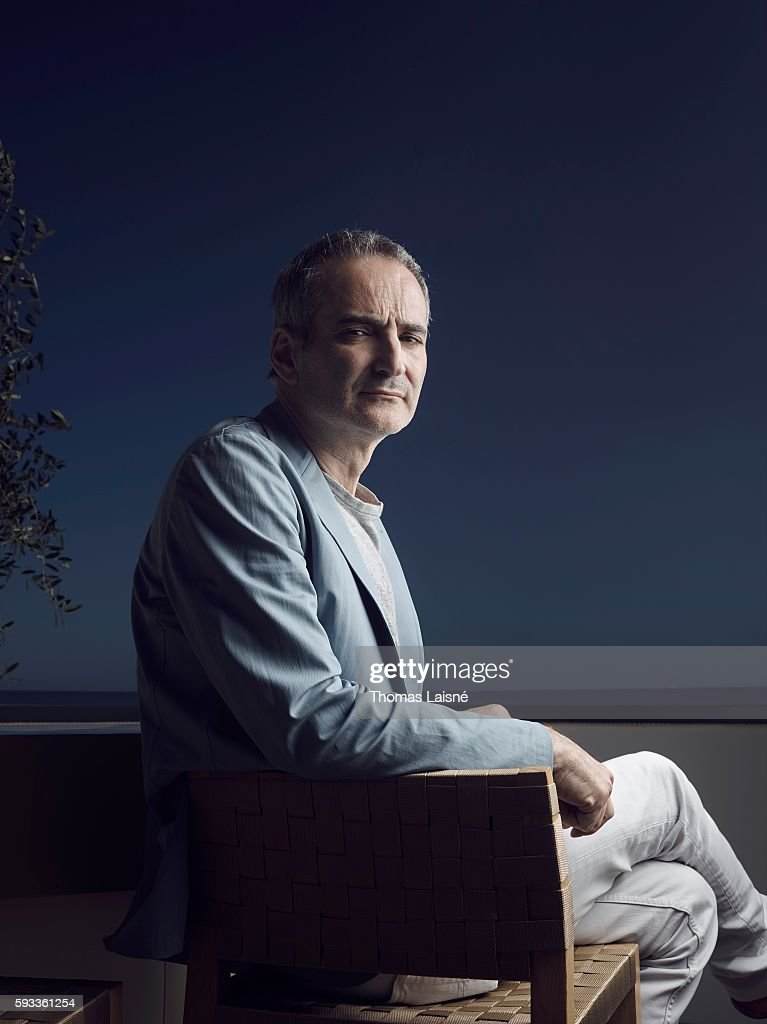 Director Olivier Assayas is photographed for Self Assignment on May 17, 2014 in Cannes, France.