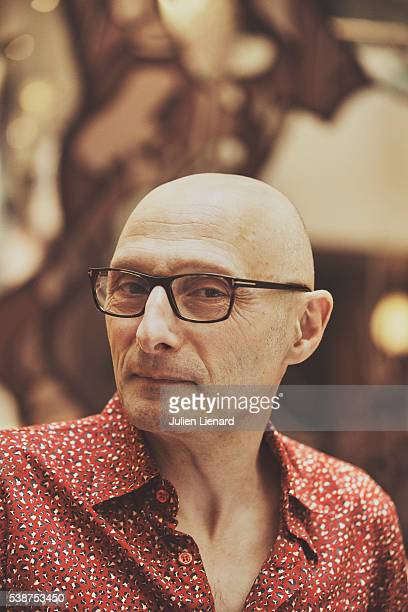 Director Olivier Ducastel is photographed for Le Film Francais on April 1 2016 in Paris France