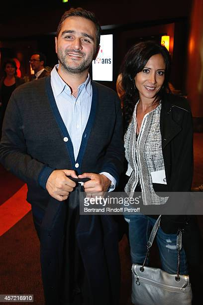 Director Olivier Nakache and actress Fabienne Carat attend the Samba Premiere to Benefit 'CekeDuBonheur' which celebrates its 10th anniversary Held...
