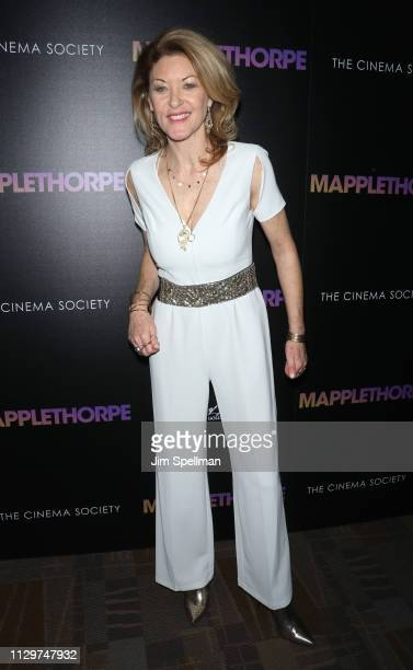 Director Ondi Timoner attends the special screening of Mapplethorpe hosted by Samuel Goldwyn Films with The Cinema Society at Cinepolis Chelsea on...