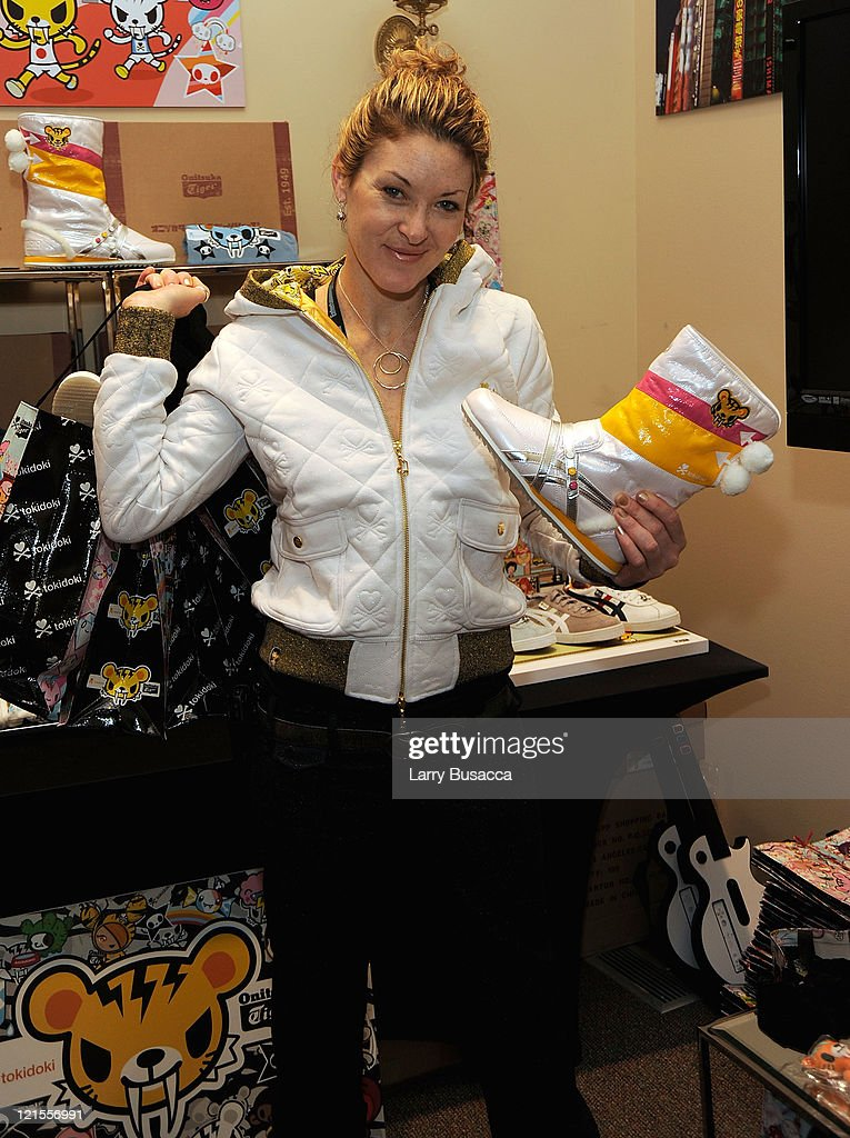 Director Ondi Timoner visits the Hollywood Life House Suite on January 18, 2009 in Park City, Utah.