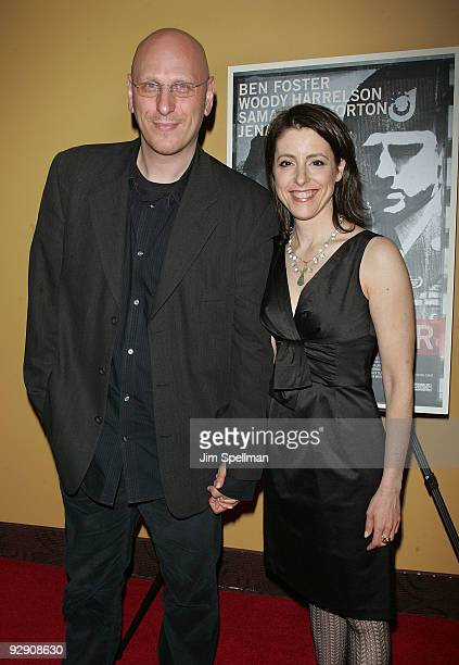 Director Oren Moverman and guest attend The Messenger Premiere at Clearview Chelsea Cinemas on November 8 2009 in New York City