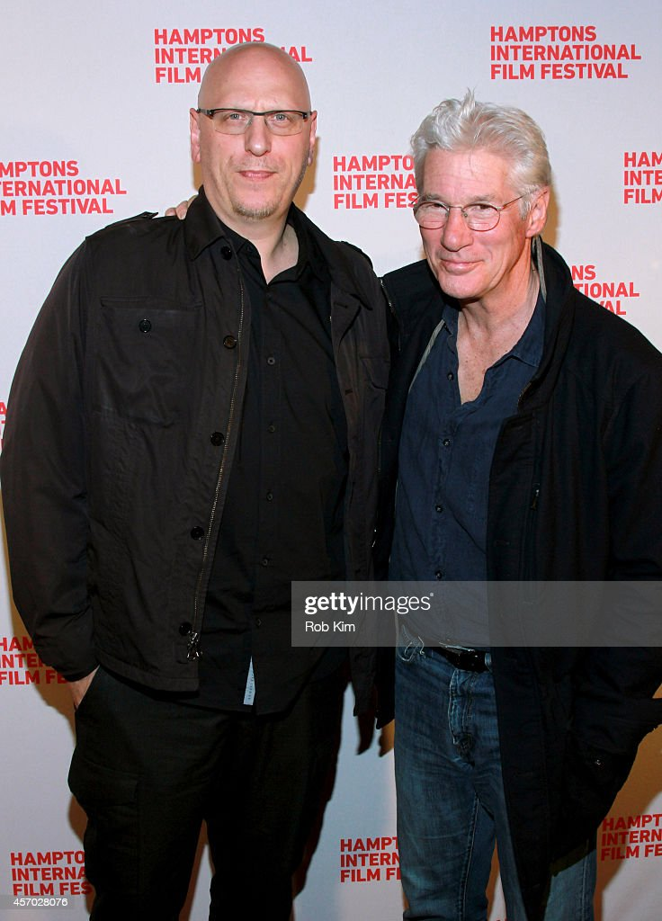 Director Oren Moverman and Richard Gere attend the 'Time Out of Mind' premiere during the 2014 Hamptons International Film Festival on October 10, 2014 in East Hampton, New York.
