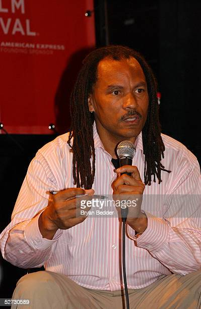 Director Orlando Bagwell attends the Tribeca Film Festival Music Panel At The ASCAP Lounge at Kitting Factory during The Tribeca Film Festival April...