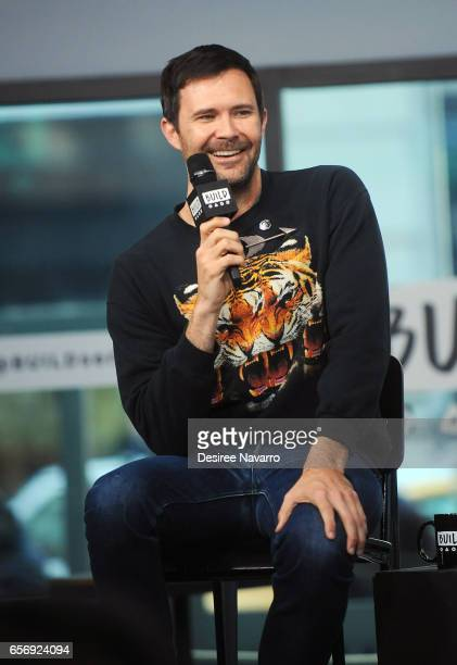 Director Osgood Perkins attends Build Series to discuss 'The Blackcoat's Daughter' at Build Studio on March 23 2017 in New York City