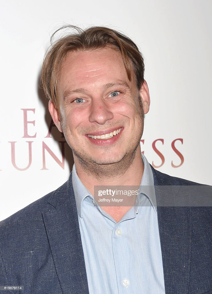 Director Otto Bell arrives at the Premiere Of Sony Pictures Classics' 'The Eagle Huntress' at Pacific Theaters at the Grove on October 18, 2016 in Los Angeles, California.