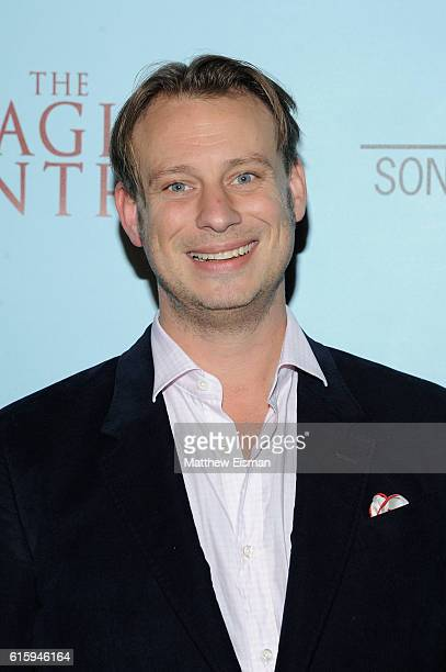 """Director Otto Bell attends """"The Eagle Huntress"""" screening at Landmark Sunshine Cinema on October 20, 2016 in New York City."""