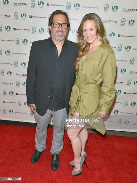 Director Pablo Croce and Siudy Garrido from Documentary film 'Siudy Between Worlds – 50 Performances of the American Dream' are seen during 37th...