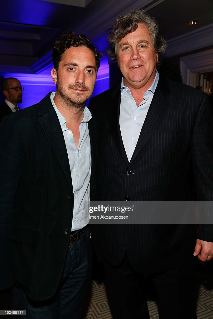 Director Pablo Larrain (L) and Sony Pictures Classics Co-Founder/Co-President Tom Bernard attend the Sony Pictures Classics Pre-Oscar Dinner at The London Hotel on February 23, 2013 in West Hollywood, California.