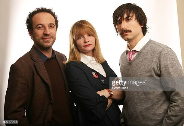 Director Paolo Borraccetti producer Annie Lukowski and producer Zak Mechanic of the film 'Have You Ever Heard About Vukovar' pose for a portrait at...