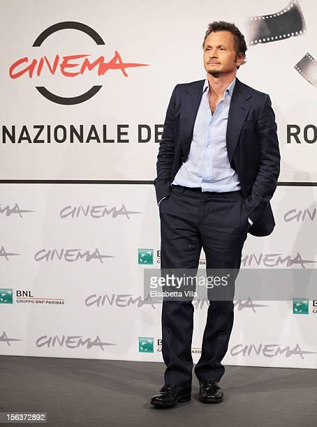 Director Paolo Franchi attends the 'E La Chiamano Estate' Photocall during the 7th Rome Film Festival at the Auditorium Parco Della Musica on...