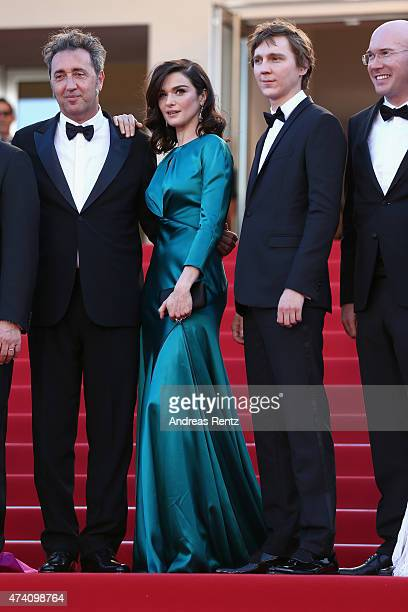 Director Paolo Sorrentino and actors Rachel Weisz Paul Dano and Alex Macqueen attend the 'Youth' Premiere during the 68th annual Cannes Film Festival...
