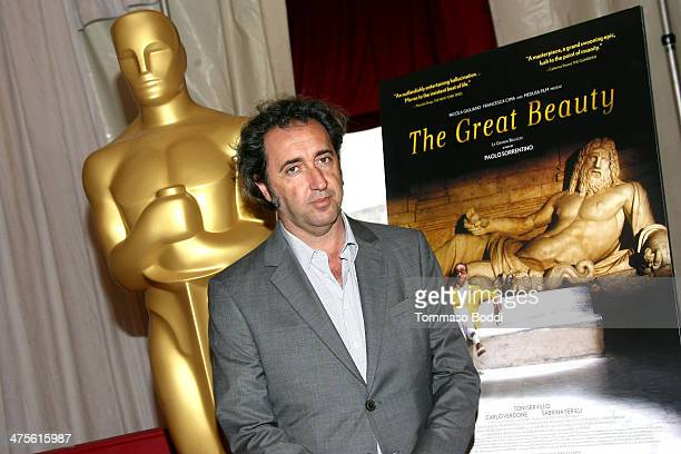 Director Paolo Sorrentino attends the 86th Annual Academy Awards FLFA photo op held at the Dolby Theatre on February 28 2014 in Hollywood California