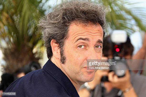 Director Paolo Sorrentino attends the 'This Must Be The Place' Photocall during the 64th Cannes Film Festival at the Palais des Festivals on May 20...