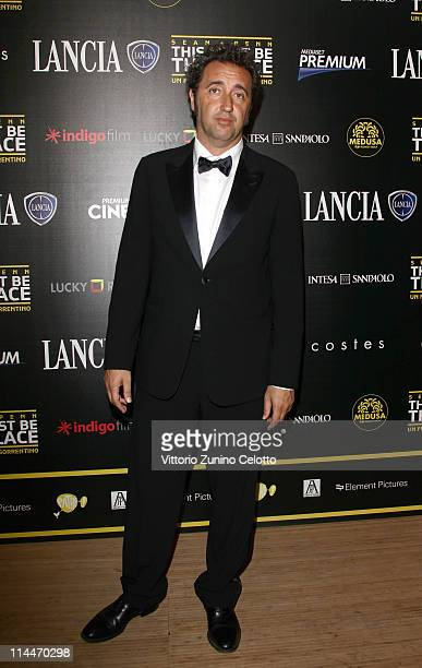 Director Paolo Sorrentino attends the 'This Must Be The Place' party hosted by Lancia during the 64th Cannes Film Festival at Plage La Mandala on May...