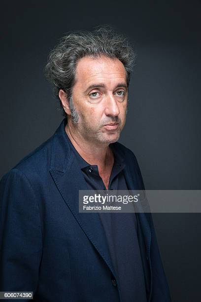 Director Paolo Sorrentino is photographed for Self Assignment on September 4 2016 in Venice Italy