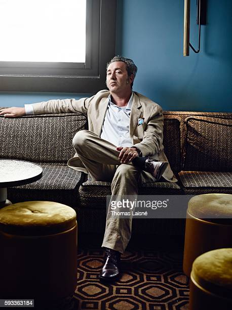Director Paolo Sorrentino is photographed for Self Assignment on June 29 2015 in Paris France