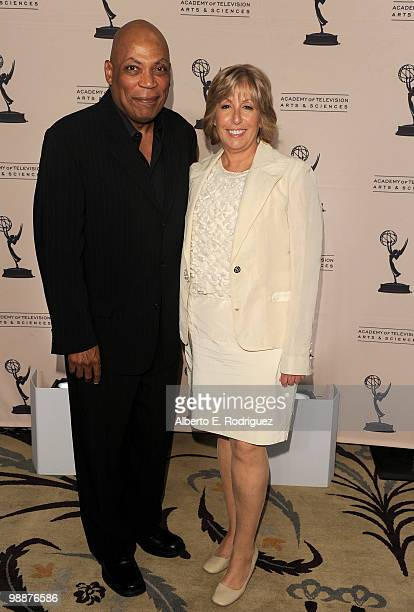 Director Paris Barclay and producer Carol Mendelsohn arrive at the Academy of Television Arts Sciences' 3rd Annual Academy Honors at the Beverly...