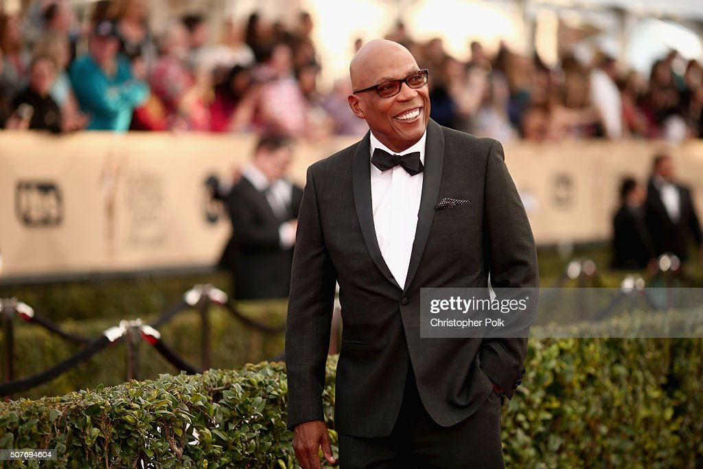 Director Paris Barclay attends The 22nd Annual Screen Actors Guild Awards at The Shrine Auditorium on January 30, 2016 in Los Angeles, California. 25650_018