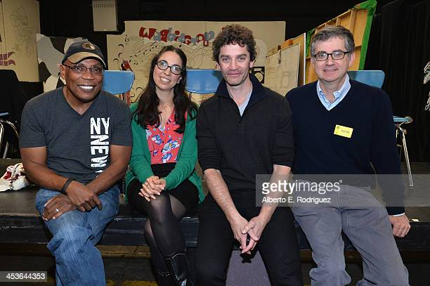 Director Paris Barclay Executive Director Original Movies at Disney Channel Lauren Kisilevsky actor James Frain and writer Greg Daniels attend a...