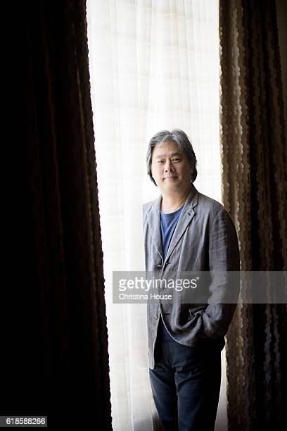Director Park Chanwook is photographed for Los Angeles Times on September 27 2016 in Los Angeles California