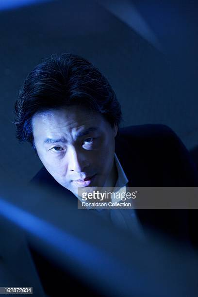Director Park Chanwook poses for a portrait session in February 2013 in Los Angeles California