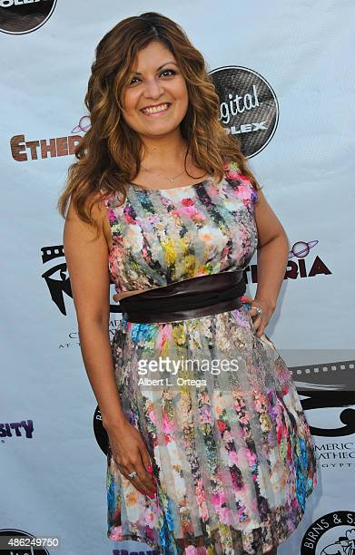 Director Patricia Chica arrives for the Etheria Film Night 2015 held at American Cinematheque's Egyptian Theatre on June 13, 2015 in Hollywood,...
