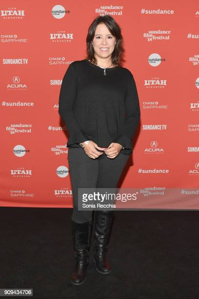 Director Patricia Riggen attends the Half The Picture Premiere during the 2018 Sundance Film Festival at Prospector Square Theatre on January 23 2018...