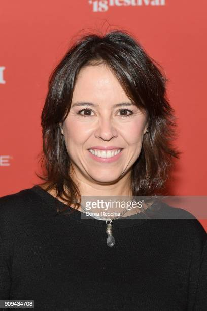 Director Patricia Riggen attends the 'Half The Picture' Premiere during the 2018 Sundance Film Festival at Prospector Square Theatre on January 23...