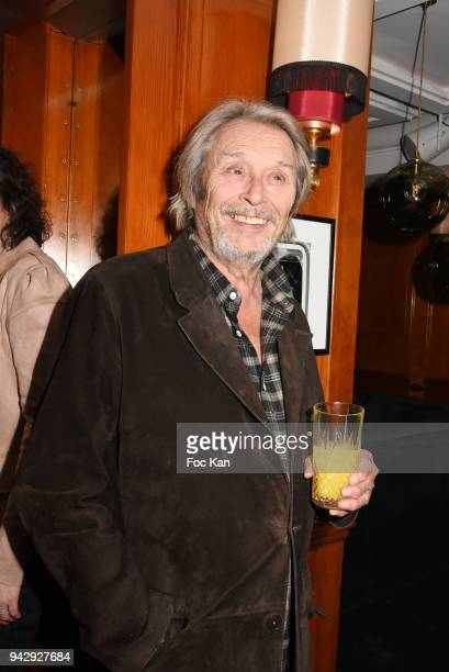 Director Patrick Bouchitey attends the the Nicolas Mereau Birthday Party At Club 13 on April 6 2018 in Paris France
