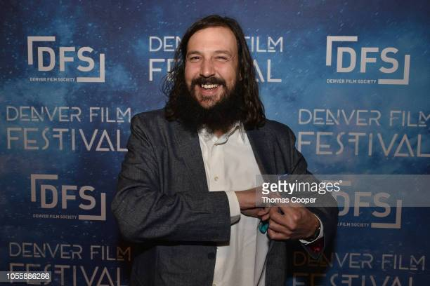 Director Patrick Hackett of the film Help Wanted on the red carpet for the 41st annual Denver Film Festival on October 31, 2018 in Denver, Colorado.