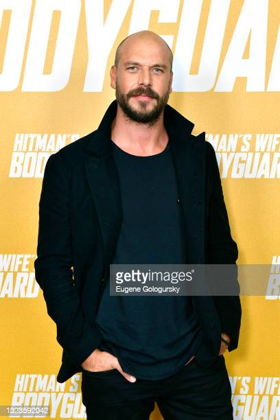 """Director Patrick Hughes attends the """"Hitman's Wife's Bodyguard"""" special screening at Crosby Street Hotel on June 14, 2021 in New York City."""