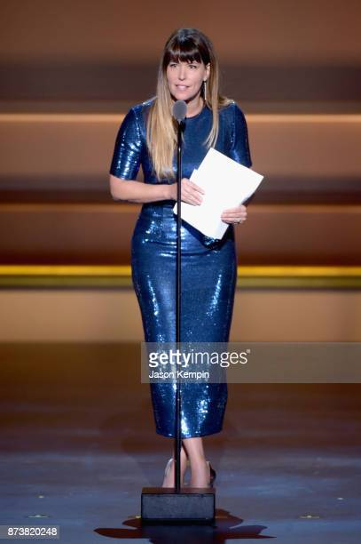 Director Patty Jenkins accepts an award onstage at Glamour's 2017 Women of The Year Awards at Kings Theatre on November 13 2017 in Brooklyn New York