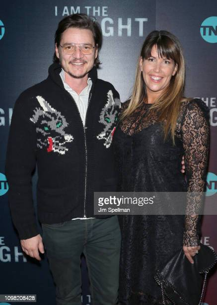 Director Patty Jenkins and actor Pedro Pascal attends the New York premiere Of TNT's I Am The Night at Metrograph on January 22 2019 in New York City