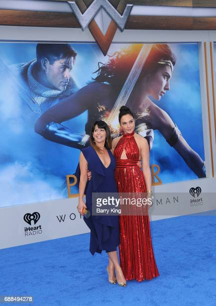 Director Patty Jenkins and actress Gal Gadot attend the World Premiere of Warner Bros Pictures' 'Wonder Woman' at the Pantages Theatre on May 25 2017...