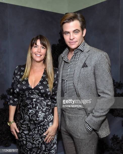 Director Patty Jenkins and Chris Pine attend the I Am the Night Influencer Junket on January 23 2019 in Los Angeles California 484192