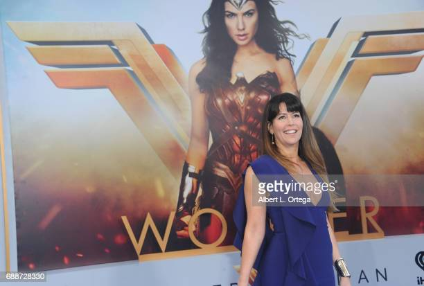 Director Patty Jenkins arrives for the Premiere Of Warner Bros Pictures' Wonder Woman held at the Pantages Theatre on May 25 2017 in Hollywood...