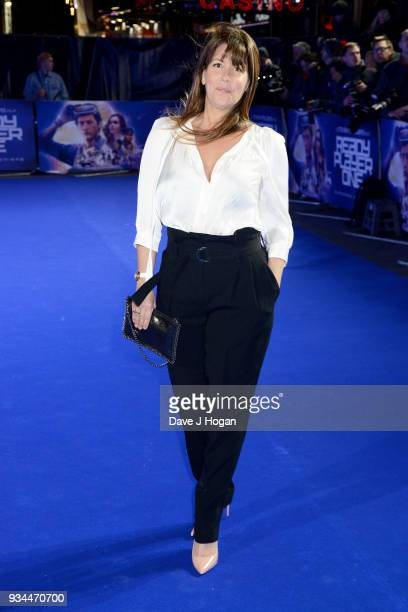 Director Patty Jenkins attends the European Premiere of 'Ready Player One' at Vue West End on March 19 2018 in London England