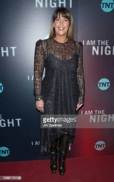 Director Patty Jenkins attends the New York premiere Of TNT's I Am The Night at Metrograph on January 22 2019 in New York City