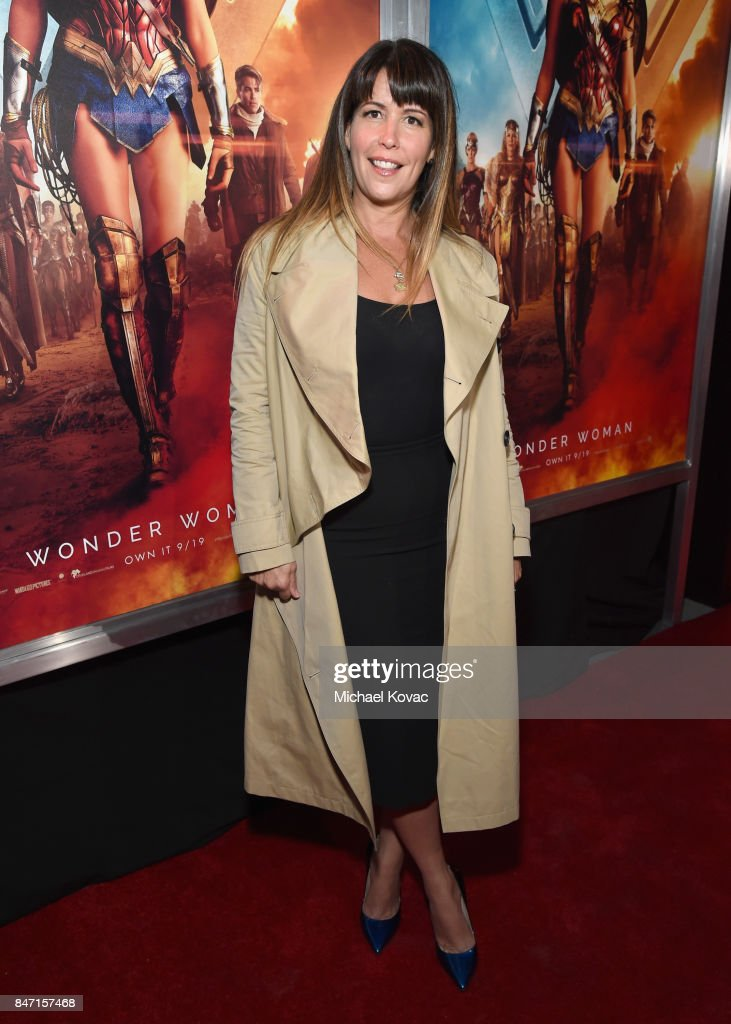 Director Patty Jenkins attends the Warner Bros. Home Entertainment and Intel presentation of 'Wonder Woman in the Sky' at Dodger Stadium on September 14, 2017 in Los Angeles, California.