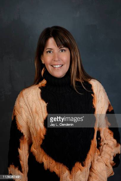 Director Patty Jenkins from 'I Am the Night' is photographed for Los Angeles Times on January 26 2019 at the 2019 Sundance Film Festival in Salt Lake...