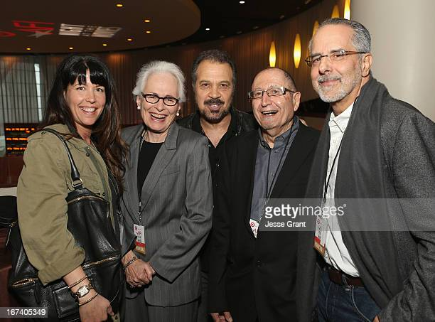 Director Patty Jenkins Jean Firstenberg director Edward Zwick AFI Distinguished ScholarInResidence Jim Hosney and director Jon Avnet attend Target...