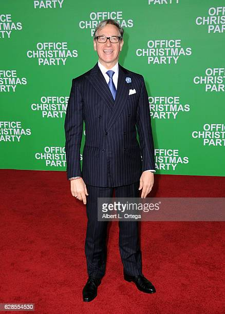 Director Paul Feig arrives at the Premiere Of Paramount Pictures' 'Office Christmas Party' held at Regency Village Theatre on December 7 2016 in...