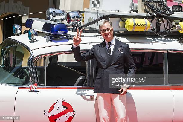 Director Paul Feig attends GHOSTBUSTERS photocall at the House of Cinema Villa Borghese on June 27 2016 in Rome Italy