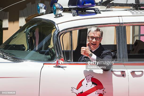 "Director Paul Feig attends ""GHOSTBUSTERS"" photocall at the House of Cinema Villa Borghese on June 27, 2016 in Rome, Italy."