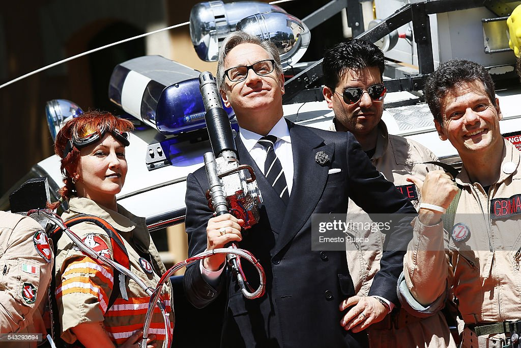 'Ghostbusters' Photocall In Rome : ニュース写真