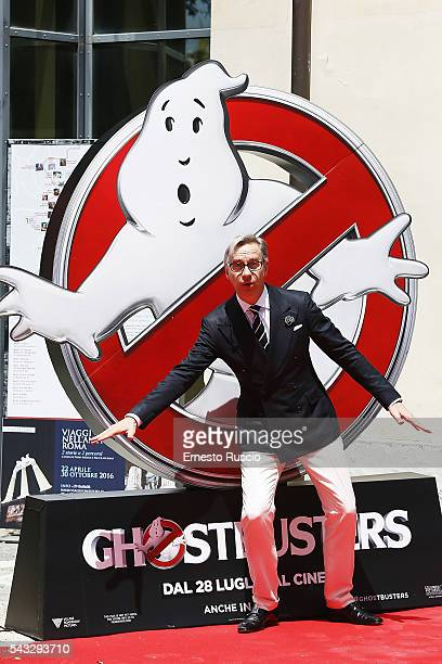 Director Paul Feig attends the 'Ghostbusters' photocall at La Casa Del Cnema on June 27, 2016 in Rome, Italy.